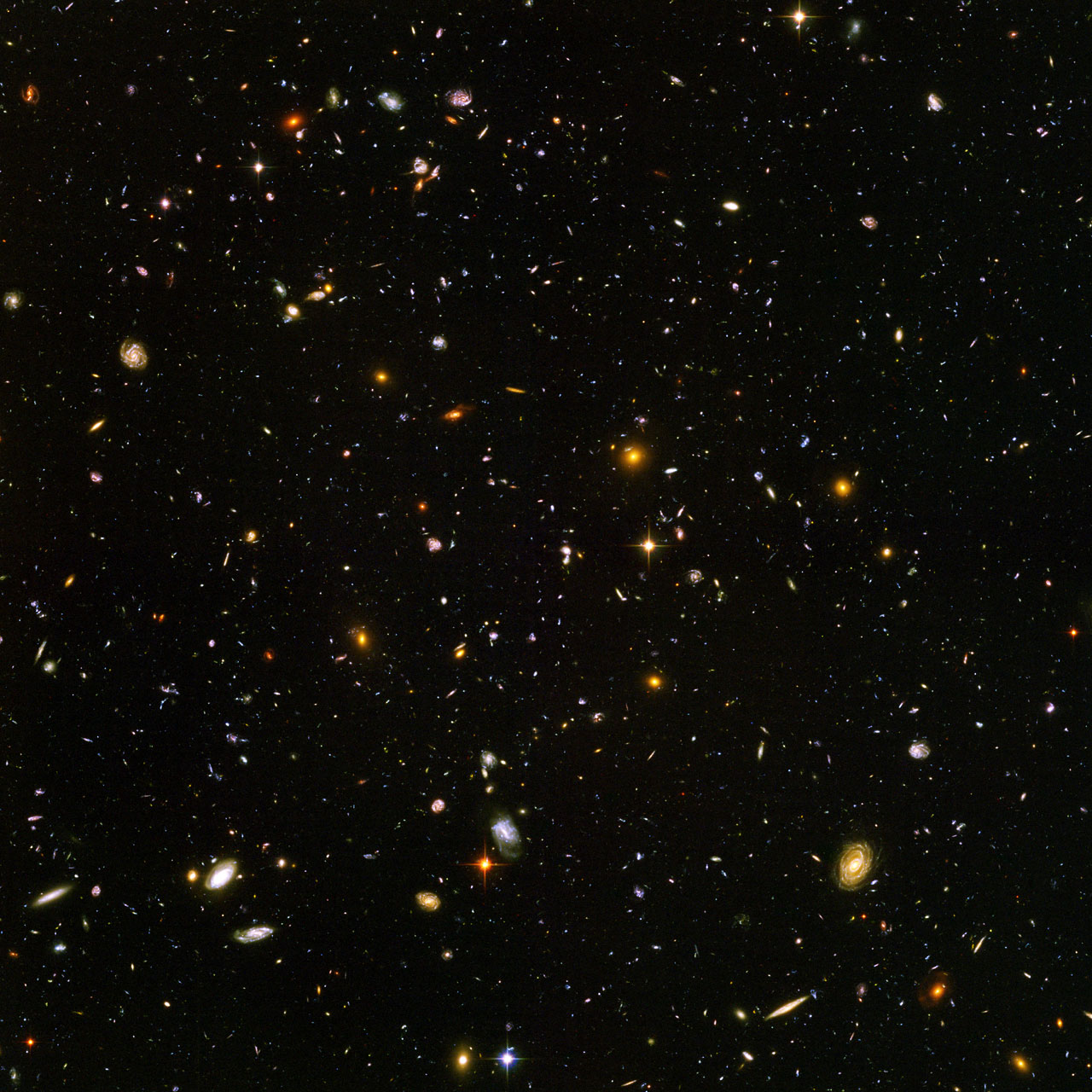 Hubble Ultra Deep Field by NASA/ ESA