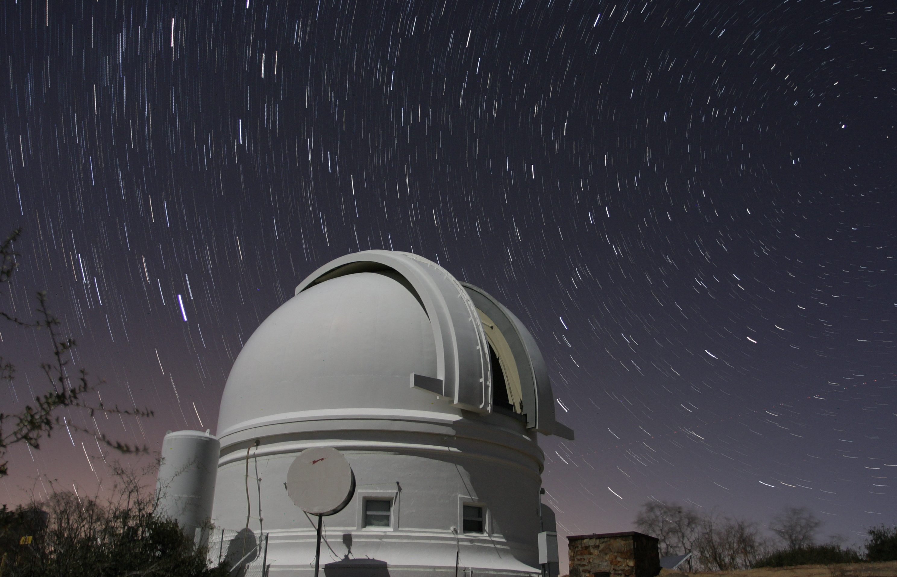 The Palomar Observatory photo by Scott Kardel