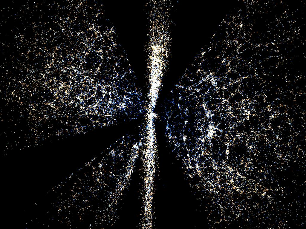 The Universe as mapped by SDSS and WMAP