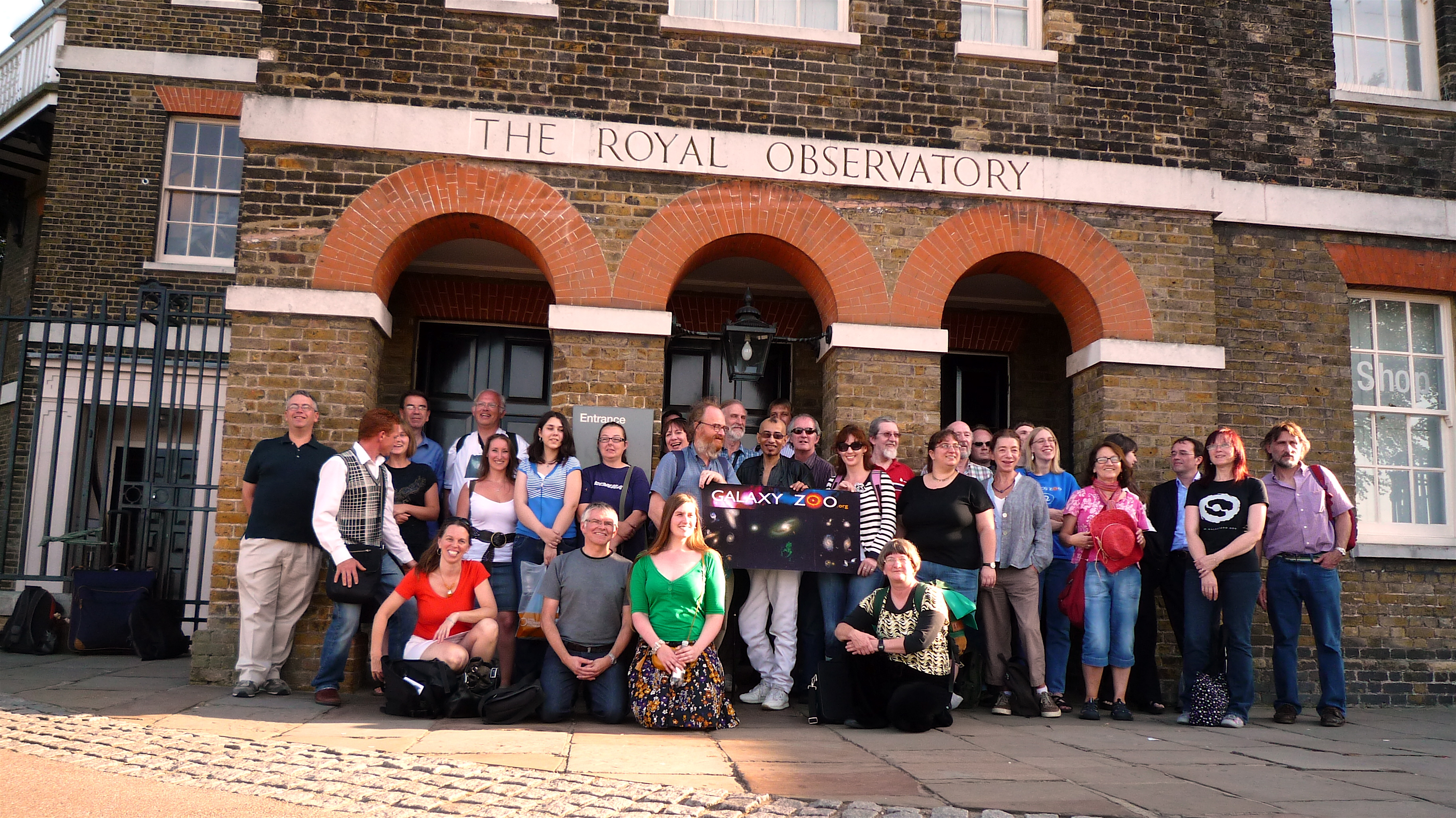 The self-described 'zooites', or citizen scientists, at the Royal Observatory